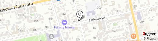 Юридическое бюро Елены Астаповой на карте Батайска