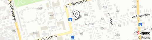 ТОРГОВЫЙ КОМПЛЕКС МЕТАЛЛУРГ на карте Батайска