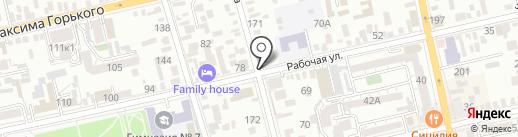 Юридическое бюро на карте Батайска