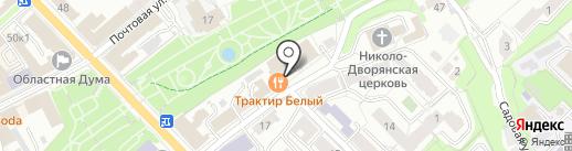 Техним на карте Рязани
