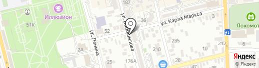 Росгосстрах банк, ПАО на карте Батайска