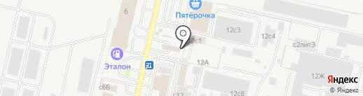 Арт-Шина 62 на карте Рязани