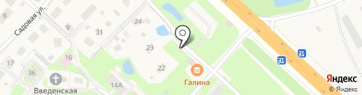 Плавничок на карте Майского