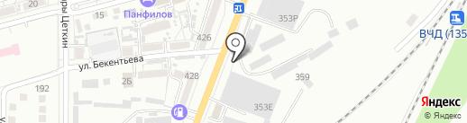 Донстальканат на карте Батайска
