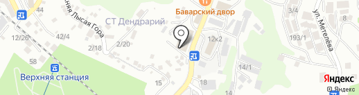 AvtoLine на карте Сочи