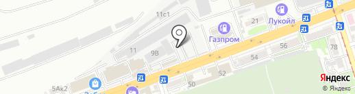 БериМой на карте Ростова-на-Дону