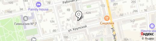 Ростовская областная коллегия адвокатов №2 на карте Батайска