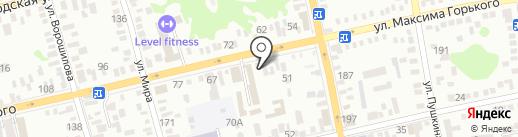 Пятница на карте Батайска