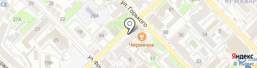 ДВЕРНИКОВ на карте Рязани
