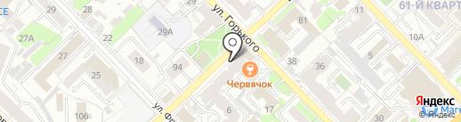 Введенское, ТСЖ на карте Рязани