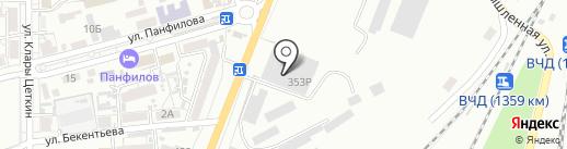 КБ Центр-инвест на карте Батайска