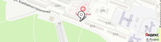 Ремонтная компания на карте Ростова-на-Дону