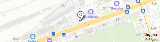 Мастерская по ремонту элитной обуви на карте Ростова-на-Дону