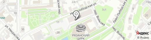 МЦ Контакт на карте Рязани