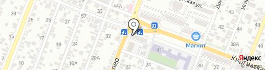 Суши & PIZZA на карте Ростова-на-Дону