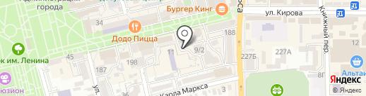 Торгово-сервисный центр на карте Батайска