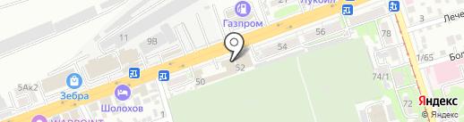 Стиль на карте Ростова-на-Дону