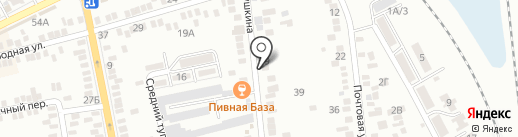 Пивная база на карте Батайска