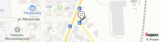 Алла на карте Батайска