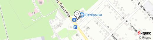 Департамент территориального управления на карте Липецка