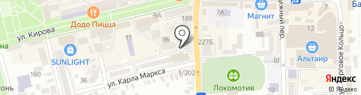 Престиж+ на карте Батайска