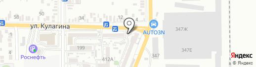 Мастерская по ремонту шин на карте Батайска