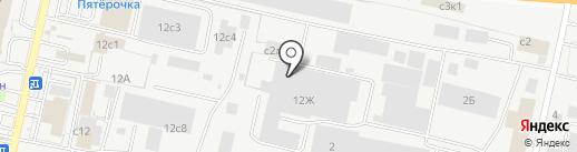 Восток-Сервис на карте Рязани