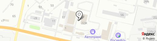 Турботехник на карте Рязани