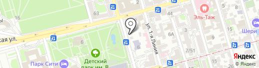 Mi100re на карте Ростова-на-Дону