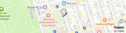 Магазин натуральных продуктов на карте Ростова-на-Дону