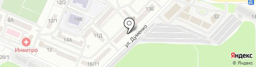 КЕДР, КПК на карте Ростова-на-Дону