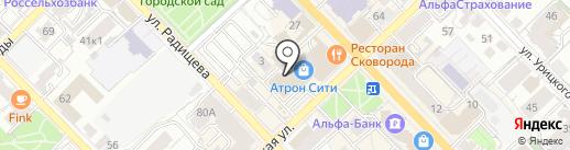 Arena на карте Рязани