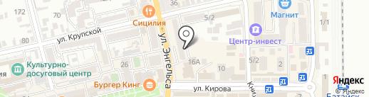 Прокуратура г. Батайска на карте Батайска
