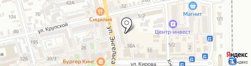 Следственный отдел на карте Батайска
