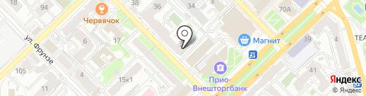 Участок организации освещения, МБУ на карте Рязани