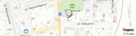 ДЮСШ №2 на карте Батайска