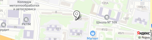 Карина на карте Ростова-на-Дону