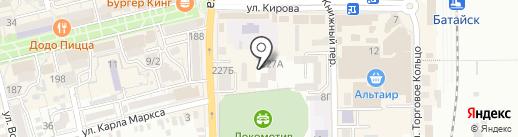 Техническая библиотека на станции Батайск на карте Батайска