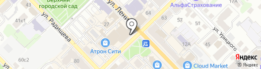 ЯКУТ АЛМАЗ ЗОЛОТО на карте Рязани