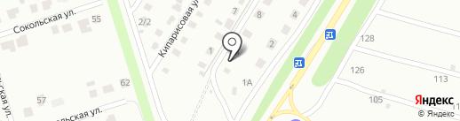 Липецк-Дом на карте Липецка