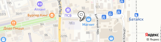 Магазин штор на карте Батайска