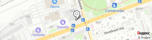 ПОЛИМЕТ, ЗАО на карте Ростова-на-Дону