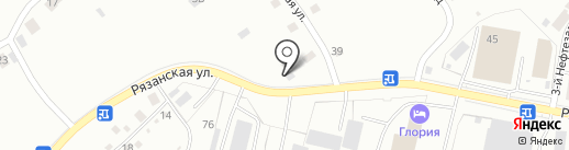 FAN AVTO на карте Рязани