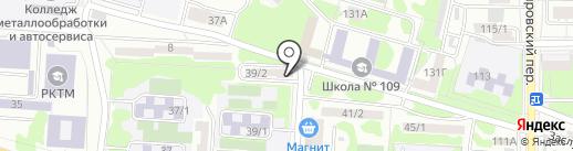 Кабинет Олега Поважного на карте Ростова-на-Дону