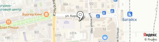 Телефон.ру на карте Батайска