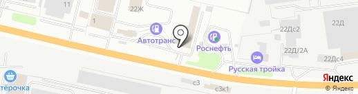Ока-Запчасть+ на карте Рязани