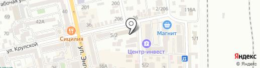 Банкомат, Сбербанк, ПАО на карте Батайска