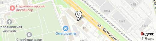АС ГРУПП на карте Рязани