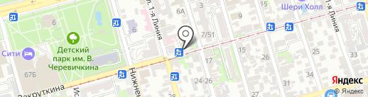 Секция кекусинкай каратэ на карте Ростова-на-Дону