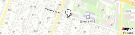 Автомагазин на карте Ростова-на-Дону